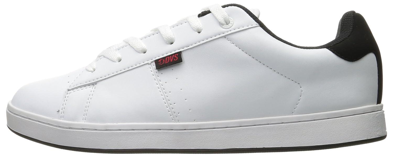 DVS Shoes Revival 2, Zapatillas para Hombre, Weiß (White Black Red), 42.5 EU