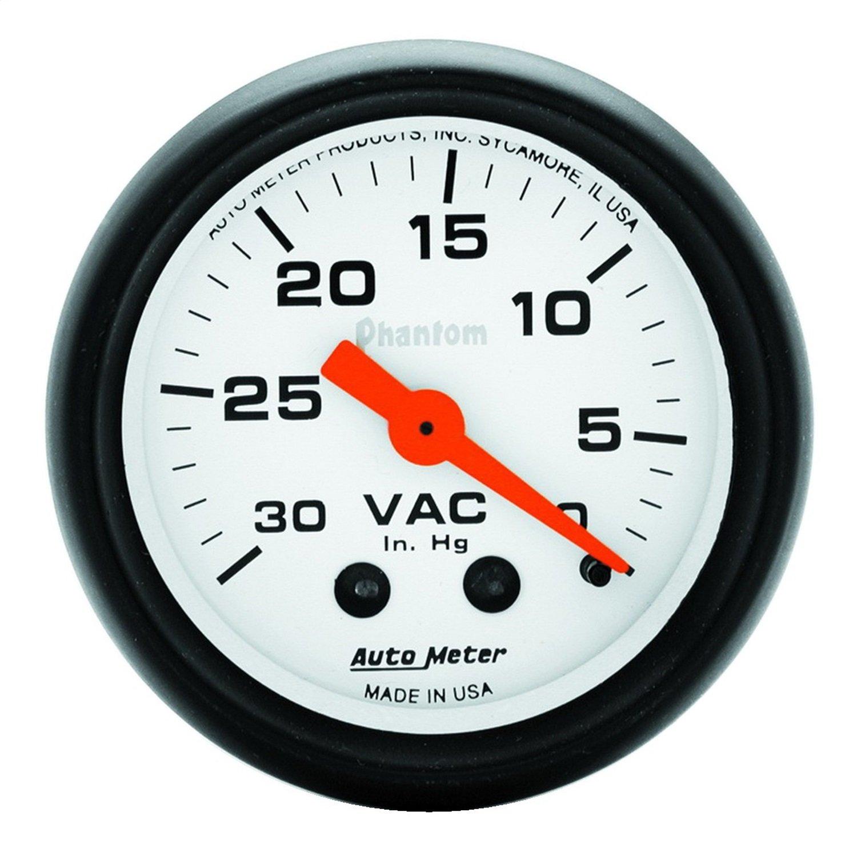 Auto Meter 5784 Phantom Mechanical Vacuum Gauge PRRXE