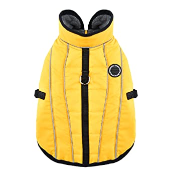 PUPPIA Expedition - Abrigo para Mascota, Talla S, Color Amarillo: Amazon.es: Productos para mascotas