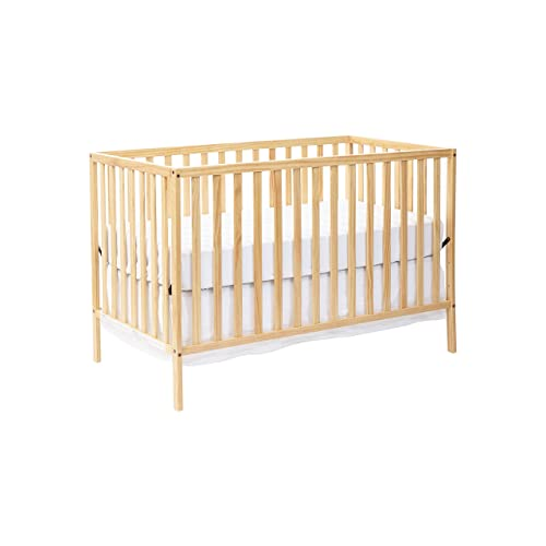 Suite Bebe Palmer 3 in 1 Convertible Crib Natural - Quick Ship
