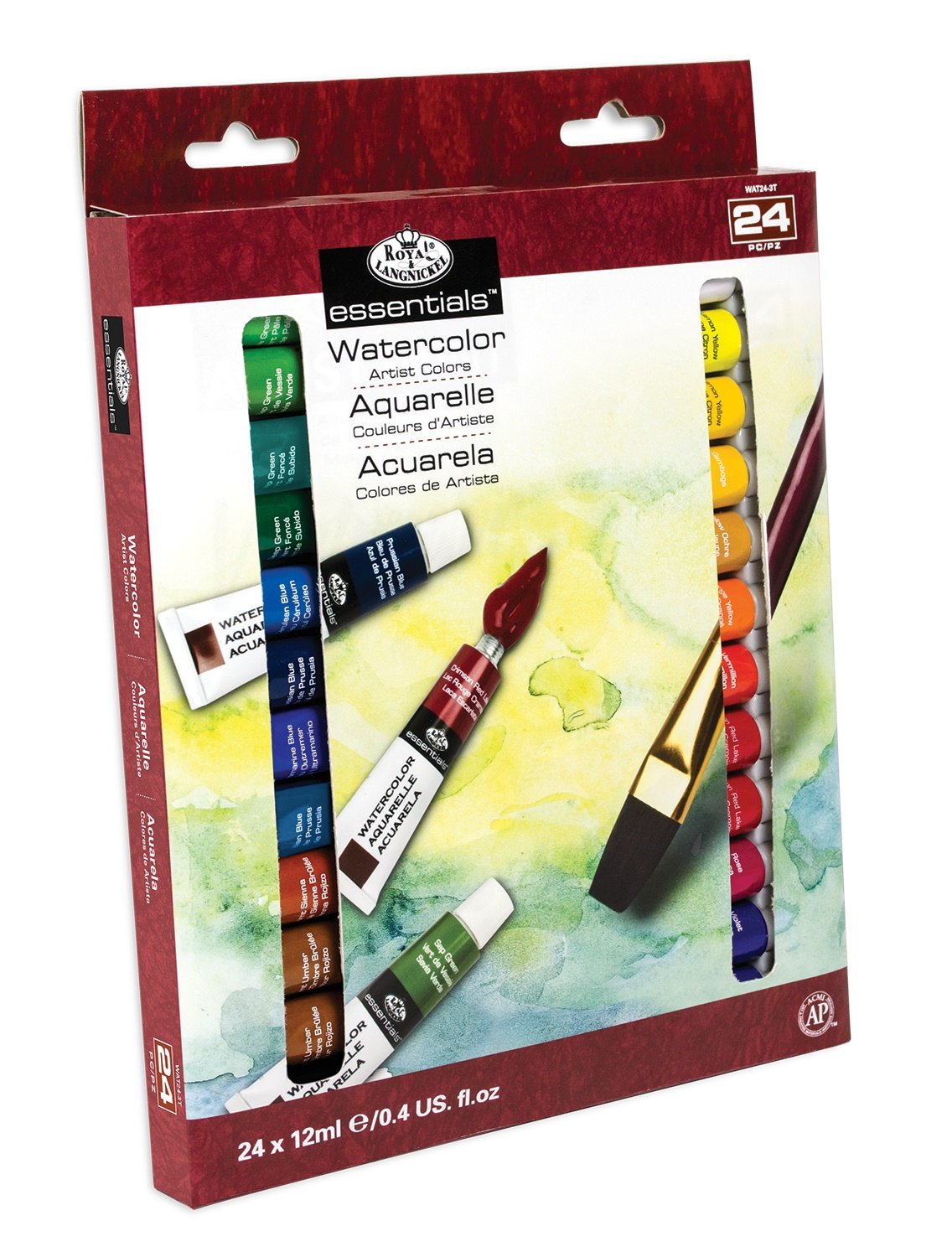 Watercolor artist magazine review - Amazon Com Royal Langnickel Watercolor Artist Tube Paint 12ml 24 Pack