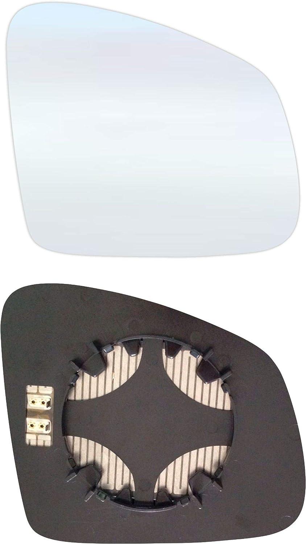 Rechts Beifahrerseite Spiegelglas mit Platte und Heizung #AM-RTTO14-RCH