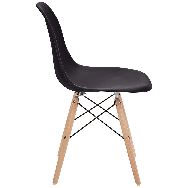 Phoenix Home Dining Chair, Single, Black