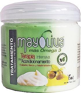 Boe Crece Pelo Mayolive Mas Omega 3 Hair Treatment 16 Oz (