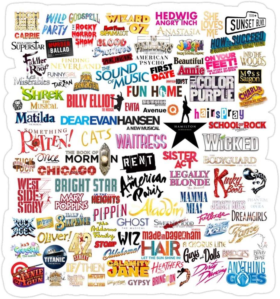 Vijk kor Musicals Stickers (3 Pcs/Pack)