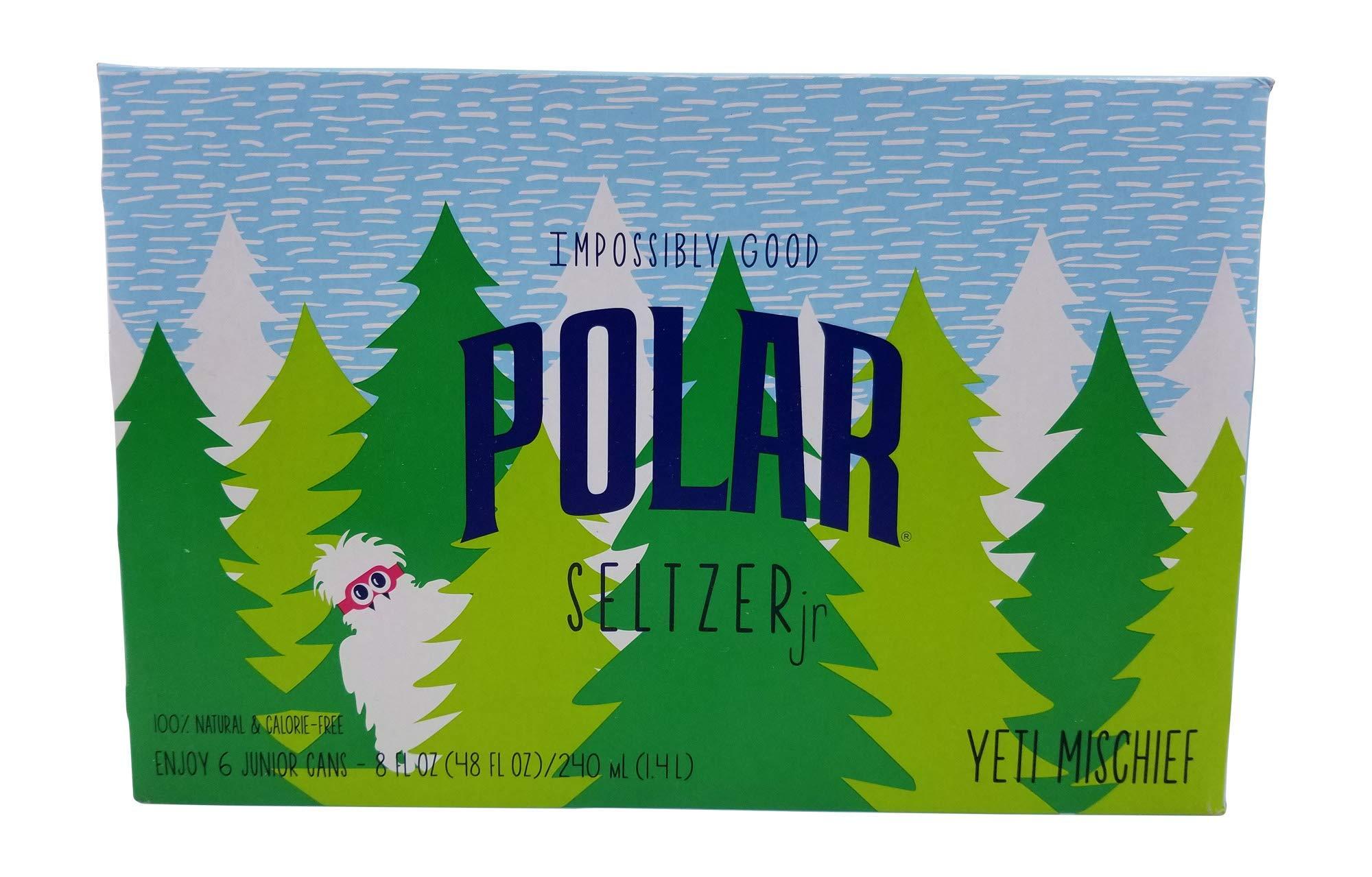 Polar Seltzer Impossibly Good Unicorn Kisses 6 pk 8 oz cans
