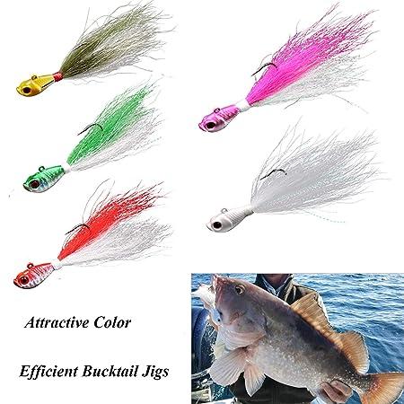 Thkfish - 5 piezas de aparejos de pesca, 7 g / 0,25 oz 28 g / 1 oz ...