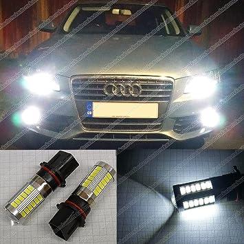 P13 W 33SMD luces de conducción diurna Bombillas LED Canbus Luces DRL Xenon ea5r1: Amazon.es: Coche y moto