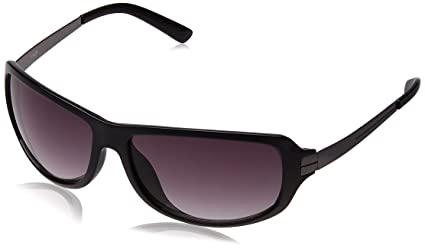 Image Rectangular Sunglasses (Black) (IMS355C1SG) <span at amazon