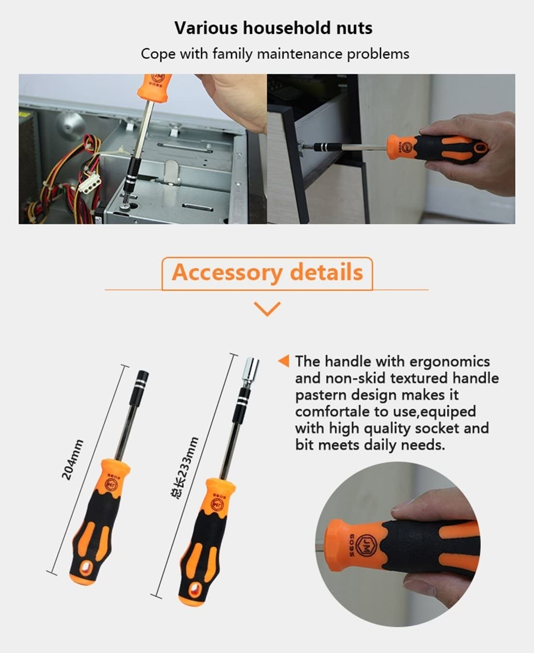 Family Must-Have Repair Tool JM-6095 Multifunction 31 in 1 Screwdriver Repair Tool Set for Phone Convenient