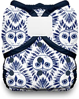 product image for Thirsties Duo Wrap Cloth Diaper Cover, Hook and Loop Closure, Night Owl Size Two (18-40 lbs)