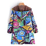 GIFC Fashion Women Plus Size Hooded Long Sleeve