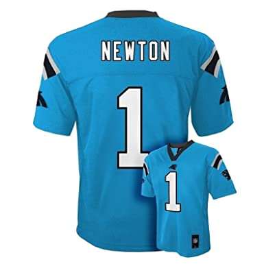 Cam Newton Carolina Panthers  1 Blue Kids Mid Tier Alternate Jersey (Kids 4) d1ed50d71