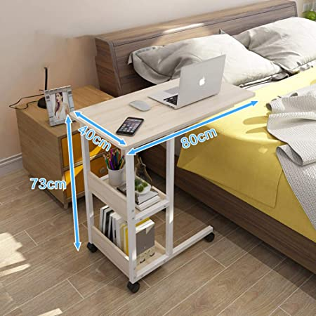 JiaQi Movible Altura Ajustable Overbed Table,Lectura Escritura ...
