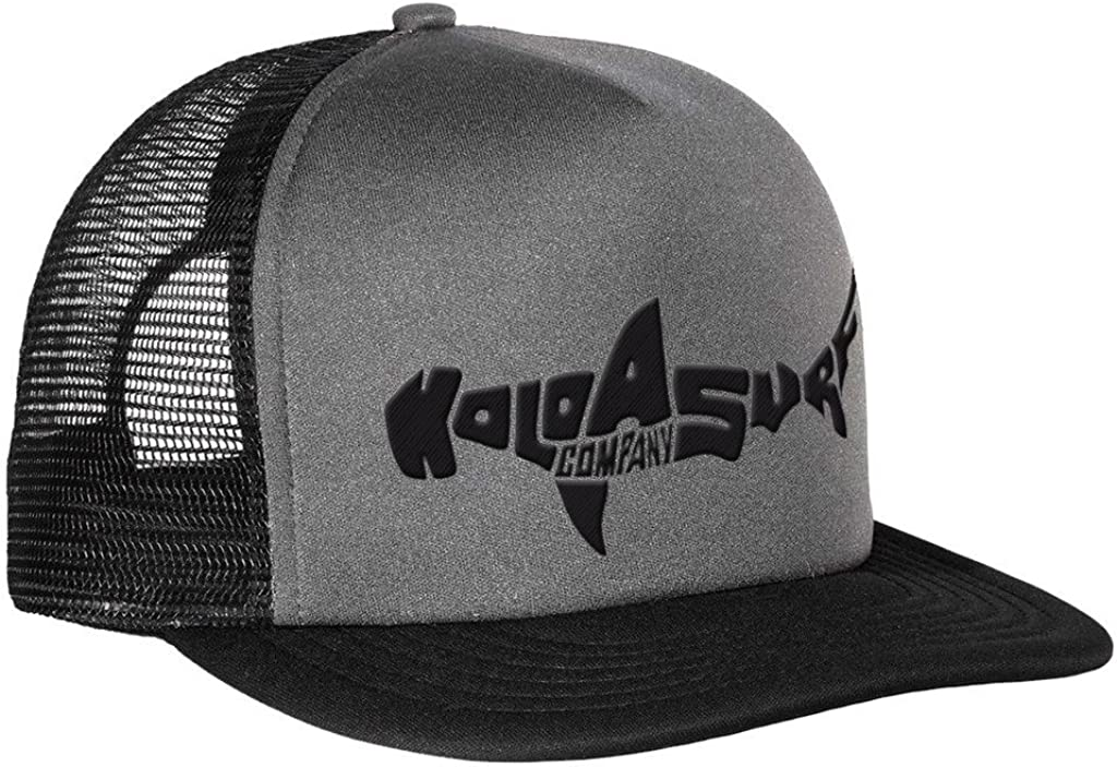 Koloa Shark Logo Mesh Back Trucker Hats in 12 Colors