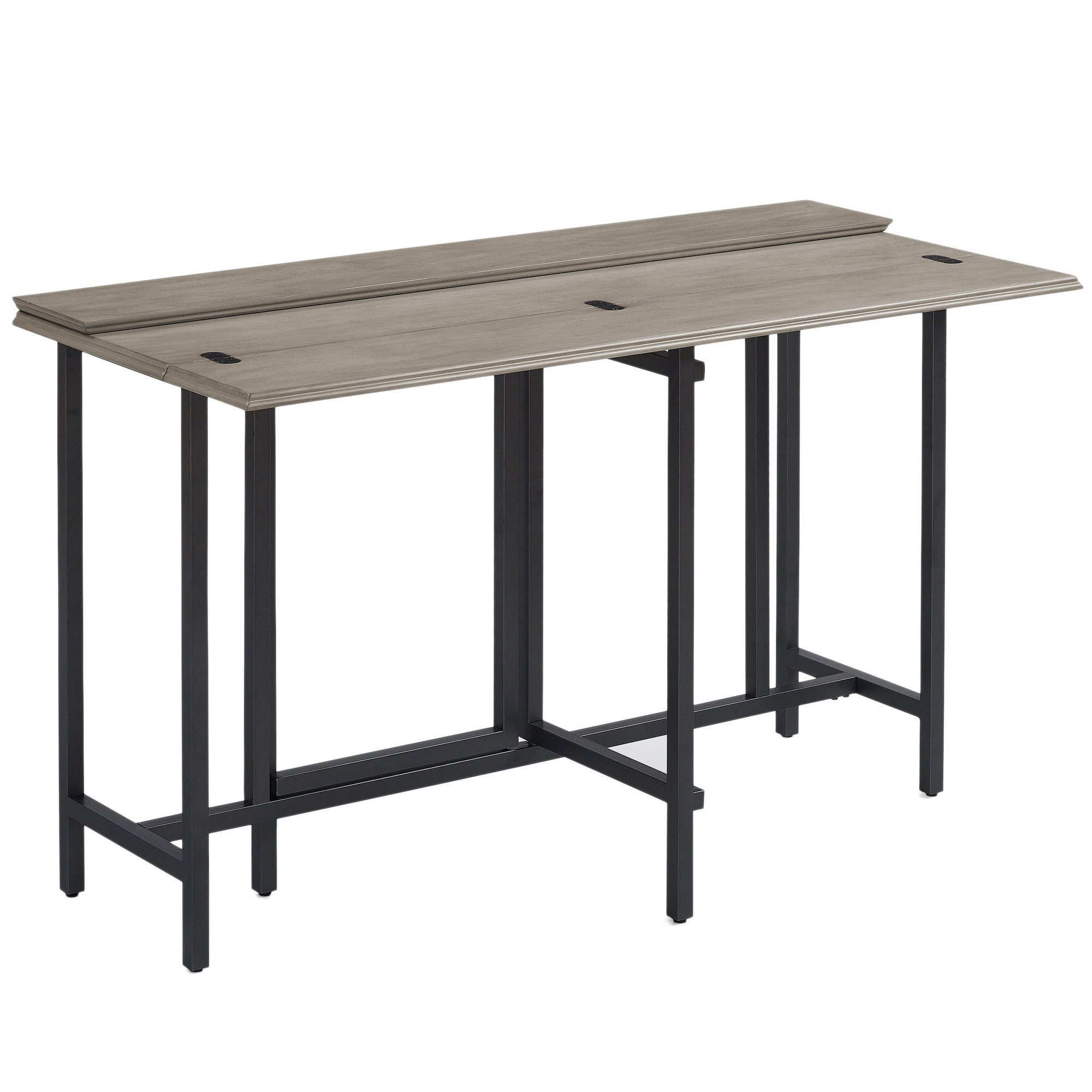 Convertible Dining Table Wood Contemporary Expandable Home Console Kitchen Table