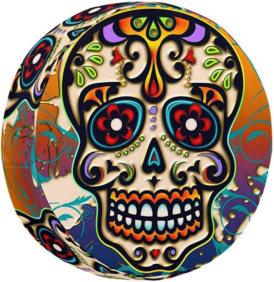 Olive Croft Housse de Pneu de Roue de Secours Universelle /étanche /à la poussi/ère Sugar Skull Mexico 14-17inch