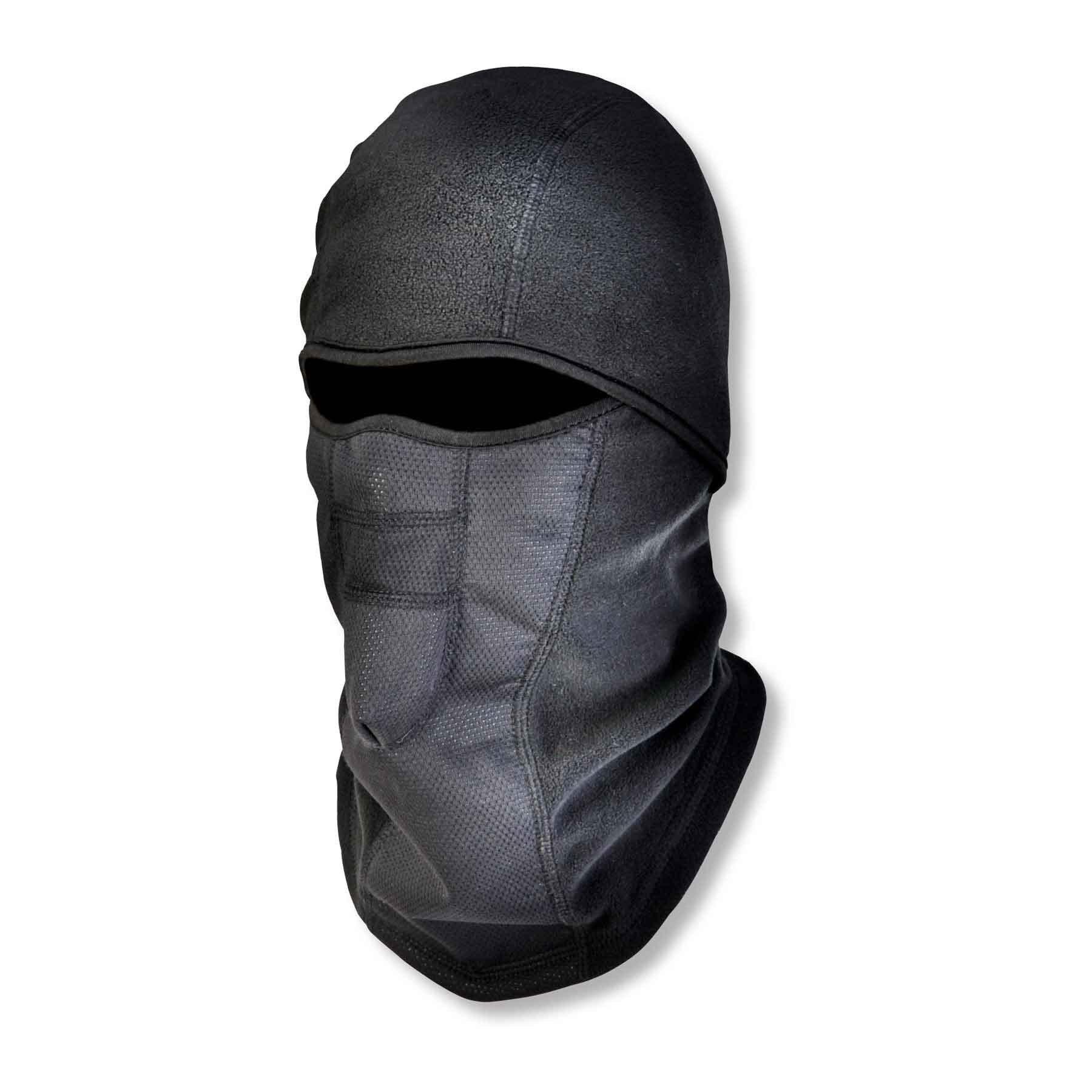 Ergodyne N-Ferno 6823 Winter Balaclava Ski Mask, Wind-Resistant Face Mask, Thermal Fleece, Black by Ergodyne