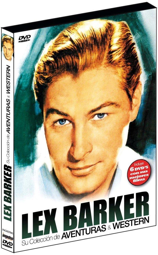 Pack Lex Barker-Aventuras & Western 6dvd