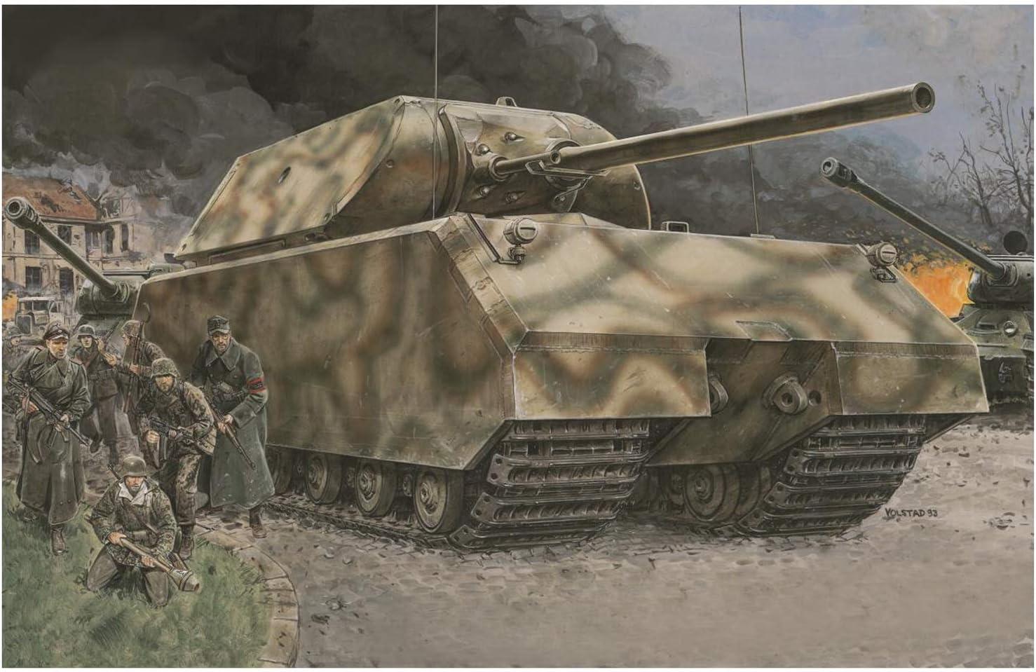 '39-'45 Series 1/35 Maus German Wwii Super-heavy Tank Model Kit