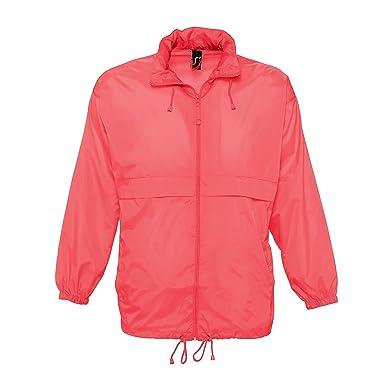 5cb4eaa0019e SOLS Unisex Surf Windbreaker Lightweight Jacket  Amazon.co.uk  Clothing