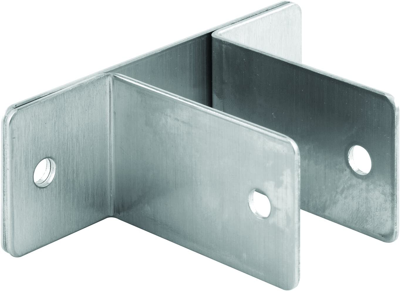 Sentry Supply 650-8142 Two Ear Wall Bracket, for Panel size 1 inch, Stamped Stainless Steel, Pack of 1