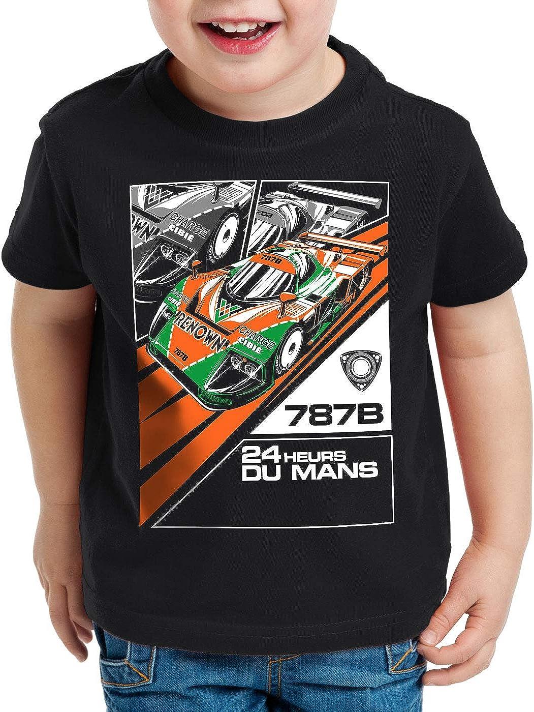 style3 787B 4-Rotor Camiseta para Niños T-Shirt Wankel Motor ...