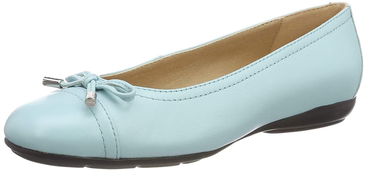 5a280b046d Amazon.com | Geox Women's Annytah 9 Nappa Leather Ballet Flat with Arch  Support and Cushioning | Flats
