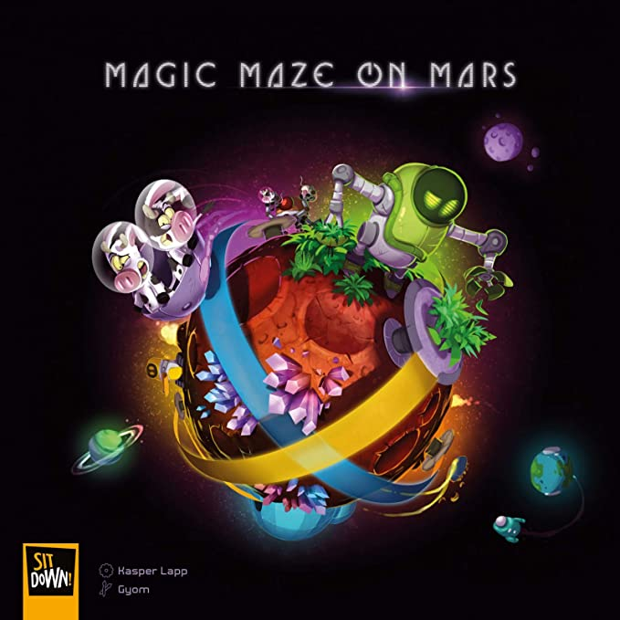 Sit Down! Magic Maze on Mars: Amazon.es: Juguetes y juegos