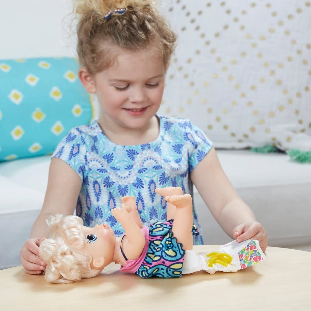Hasbro Baby Alive Martina Spaghettina Bonde C0963103 Amazon Co Uk Toys Games