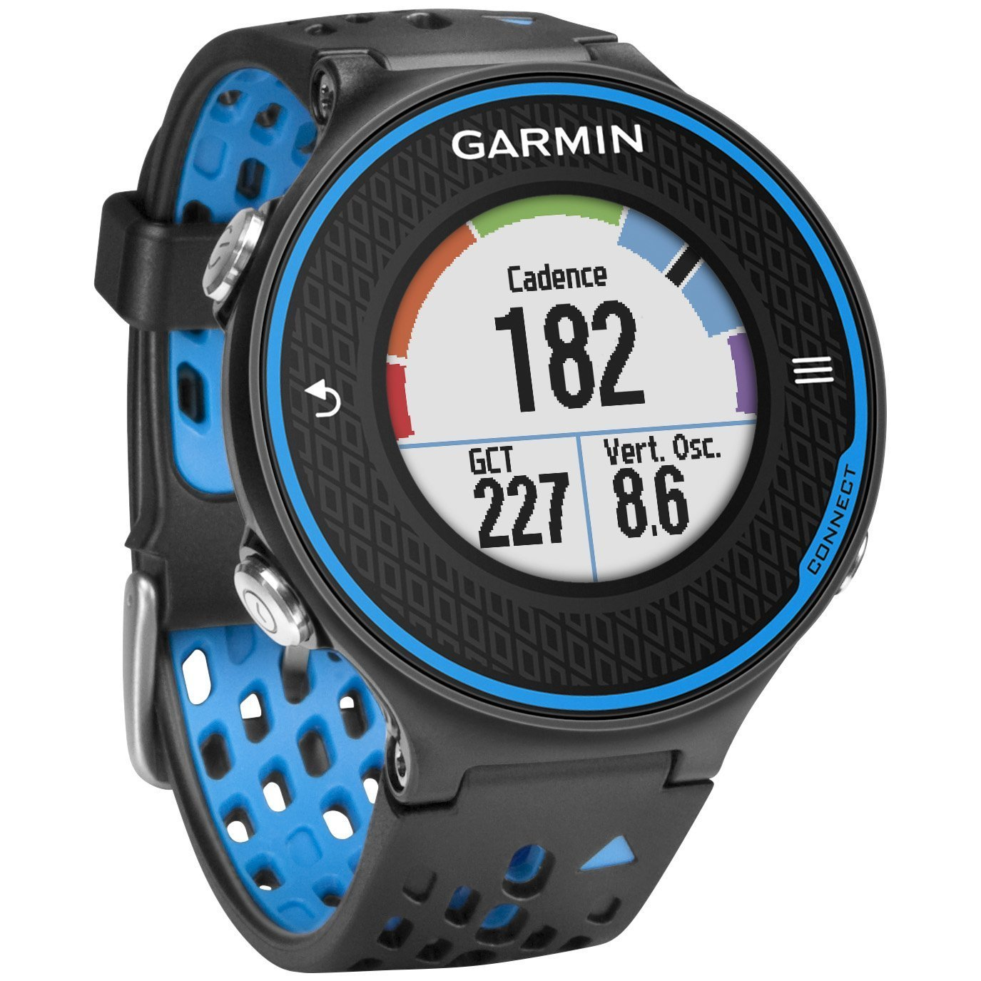 Garmin Forerunner 620 GPS Sport Fitness Running Watch - Black/blue (Certified Refurbished) by Garmin