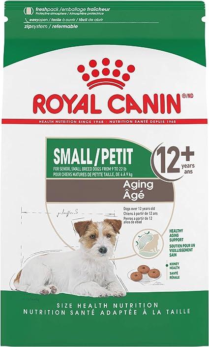 Amazon Com Royal Canin Small Aging 12 Dry Dog Food For Senior Dogs 2 5 Lb Bag Pet Supplies