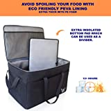 Commercial Large Insulated Food delivery bag for