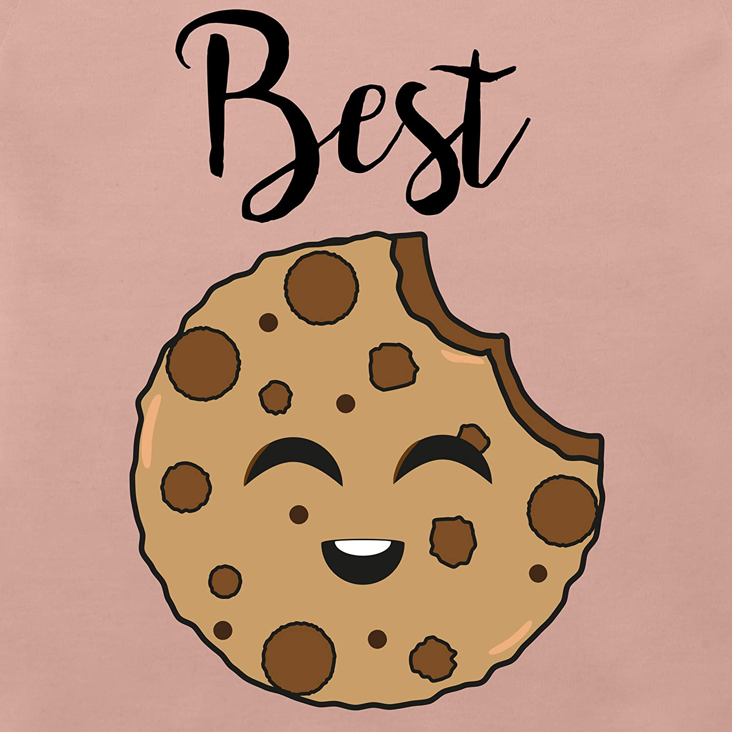 Baby T-Shirt Kurzarm Best Friends Cookies Partner-Look Familie Baby Shirtracer Best