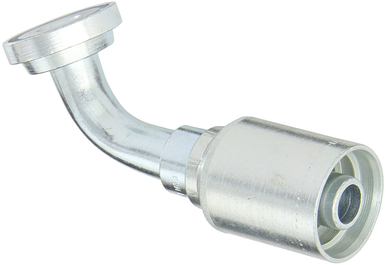 Brennan Industries 2501-16-20-FG Forged Steel 90 Degree Elbow Adapter 1 Male JIC x 1 Male NPTF 1.625 Flats 1-5//16-12 SAE x 1-1//4-11 1//2 NPTF Thread