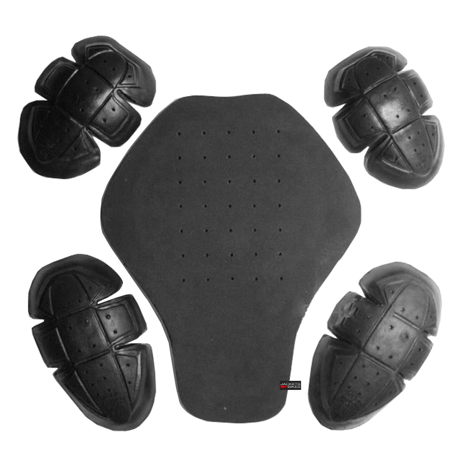 5PC CE Certified Advanced PU Armor for Motorcycle Biker Jackets Removable Set Jackets 4 Bikes