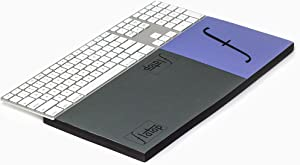 """FLATOP Keyboard Wrist Rest Raises Slim Desktop/Laptop to be Level with Wrist+Arm Using 1"""" Shelf; Perfect for Gamer Keyboards-Ergonomic Comfort for Computer Typing (7"""" Support-Model 1-4)"""