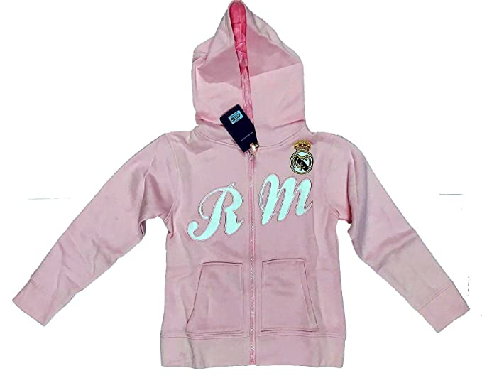 Sudadera Rosa del Real Madrid Surm11 Talla-10: Amazon.es: Ropa y accesorios
