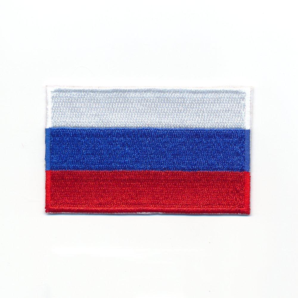 60 x 35 mm la Russie Drapeau Fé dé ration de Russie drapeau É cusson thermocollant 0961 B Import / Hegerring