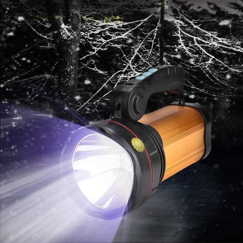 Mini Linterna port/átil de aleaci/ón de Aluminio l/ámpara de Linterna con luz telesc/ópica con Zoom con Clip para Acampar al Aire Libre GOTOTOP Linterna LED con luz de bol/ígrafo