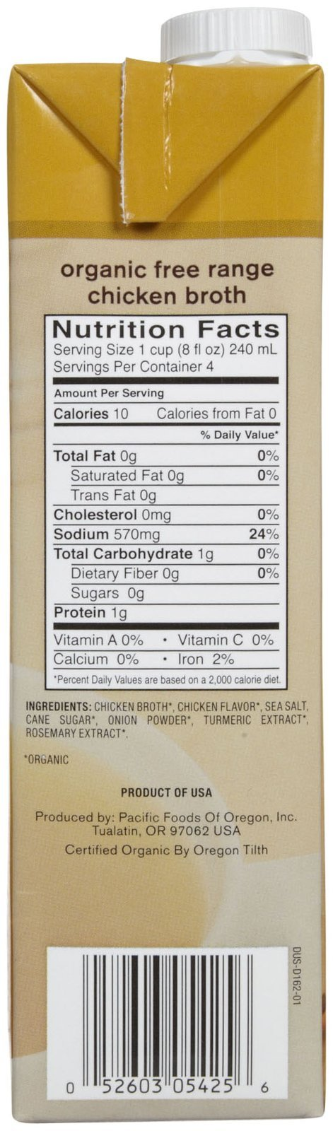 Pacific Foods Organic Chicken Broth-32 Oz-2 Pack by Pacific Foods (Image #3)