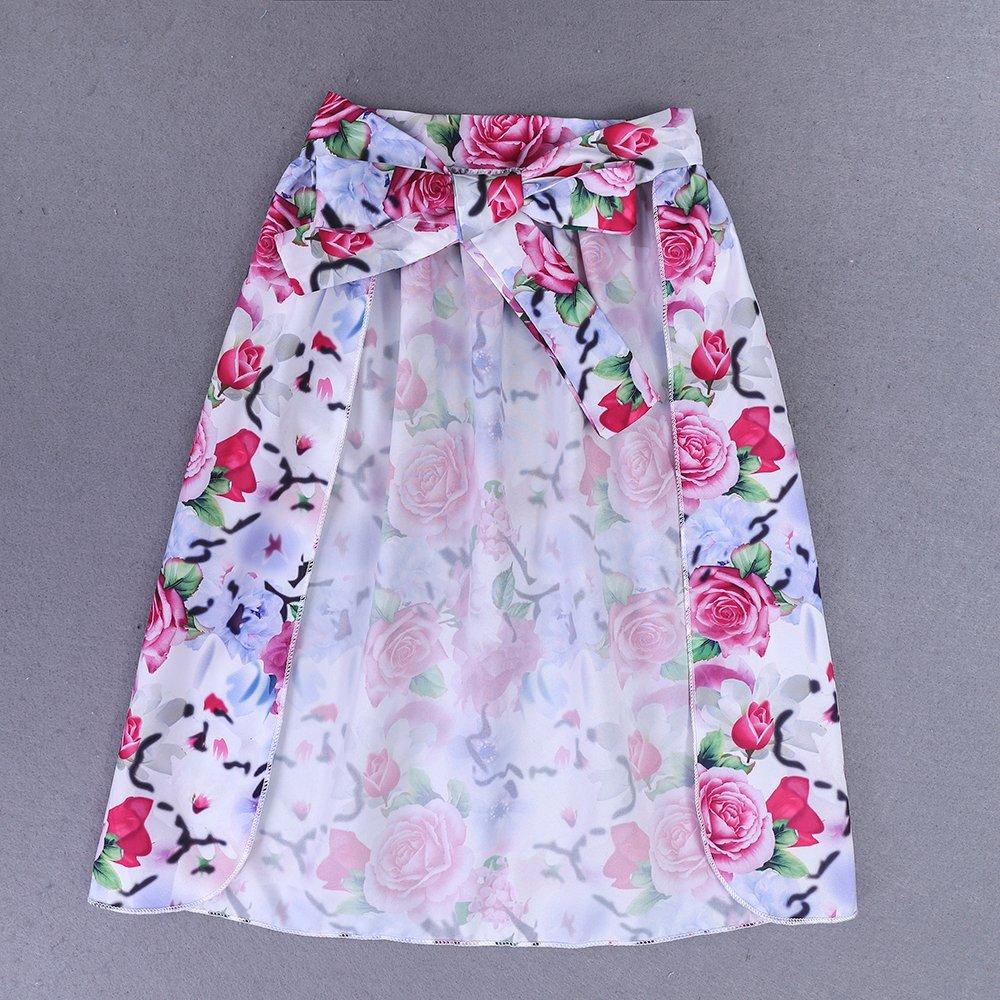 Mary ye Toddler Kids Girls Black Off Shoulder Tops+Shorts+Dovetail Skirt 3Pcs Outfits Set