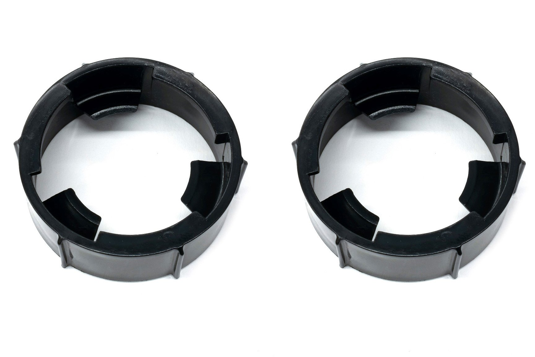 (2) Headlight Lamp Bulb Socket Retainer Rings