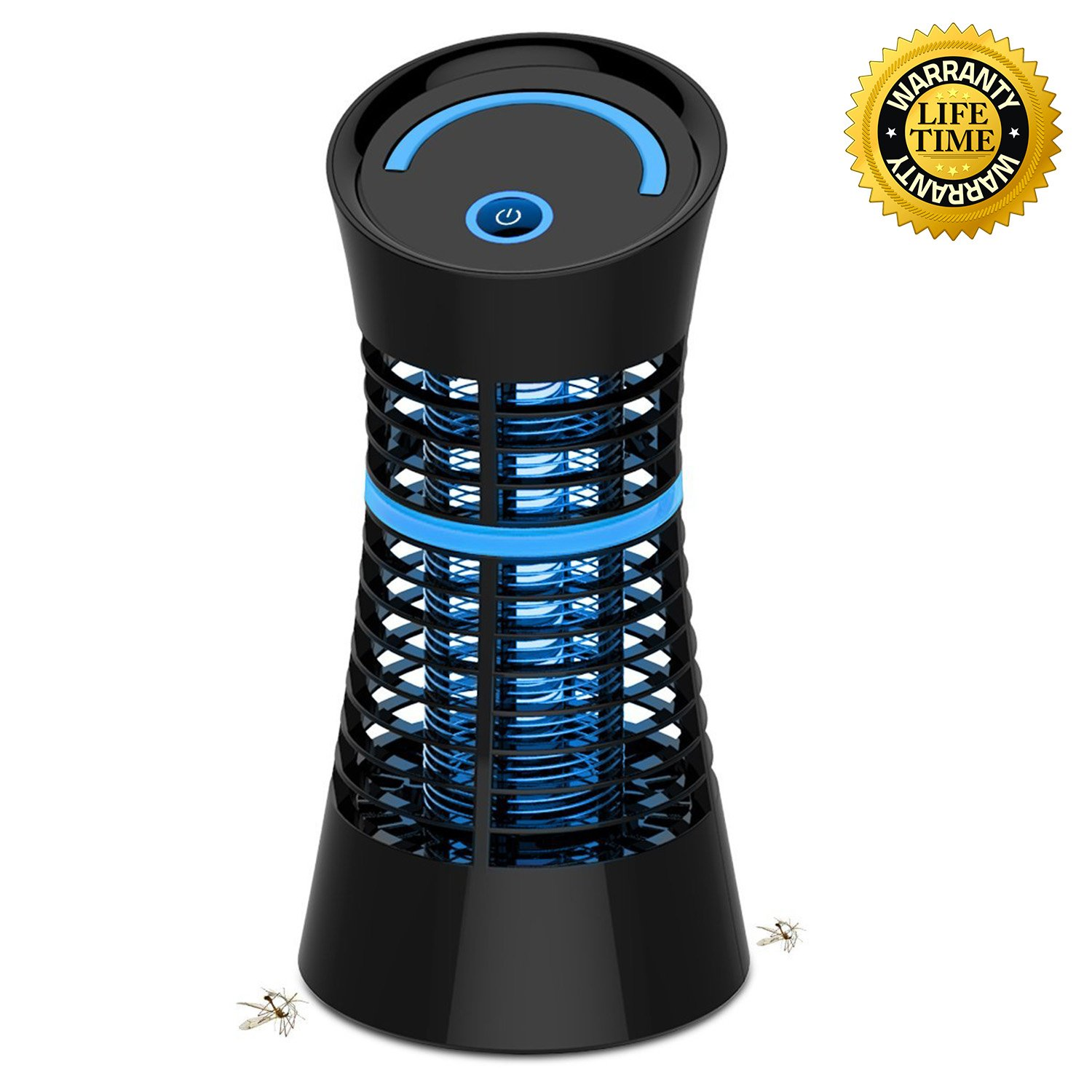 Indoor Bug Zapper, Electronic Indoor Mosquito Trap Mosquito Killer with Non Toxic UV Light Indoor Mosquito Zapper for Flying Pests, Insect, Gnat
