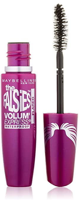 cda7c635bb3 Maybelline New York Volum' Express The Falsies Flared Waterproof Mascara, Very  Black, 0.31