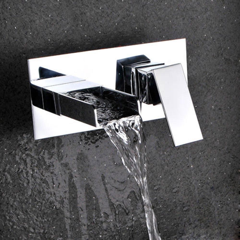 Hauptmoderne Art verchromte Hahn-Wand im Wasserfall-Bassin-Mischer Wasserfall-Bassin-Mischer Wasserfall-Bassin-Mischer 2df980
