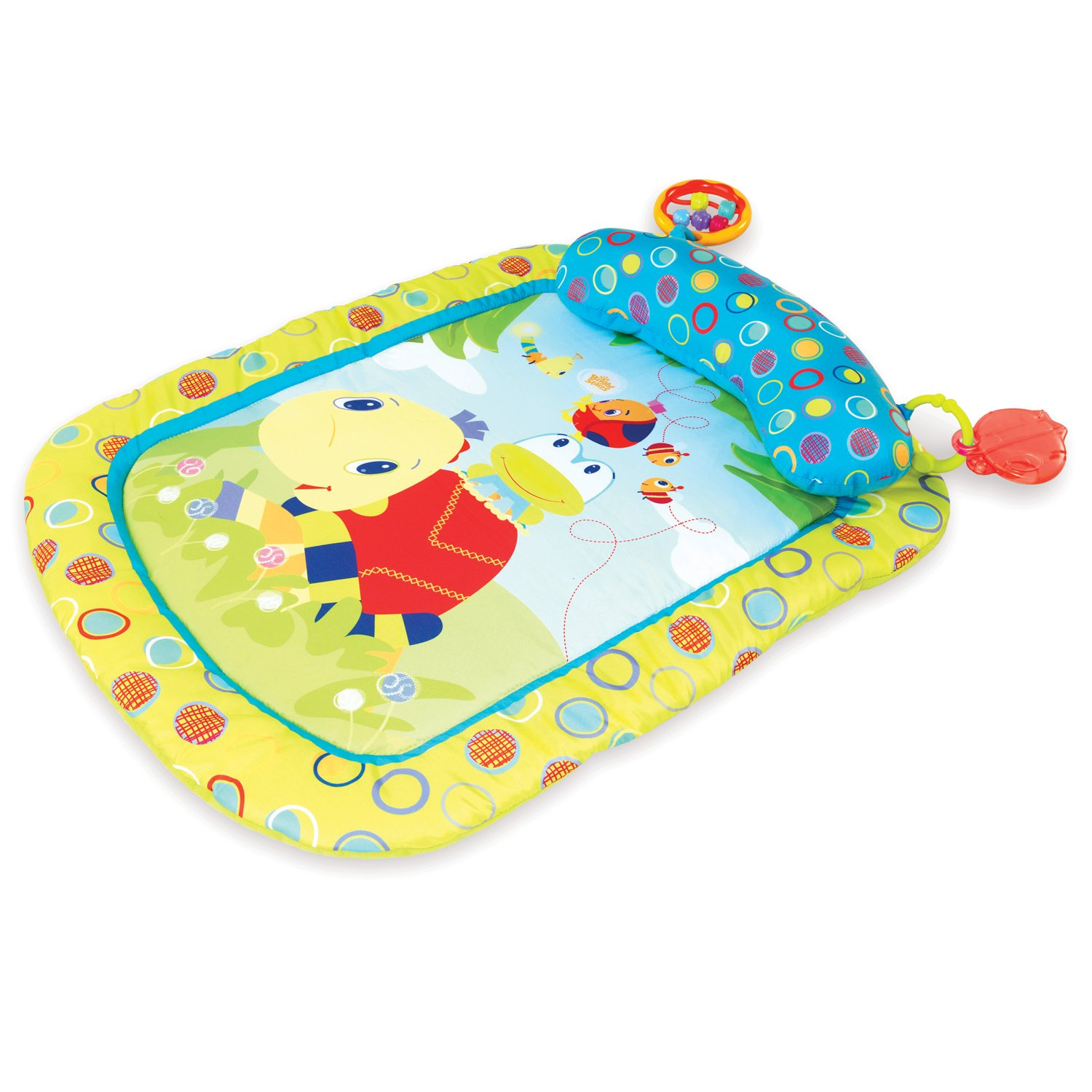 Bright Starts Tiny Turtle & Friends Prop & Play Mat Amazon