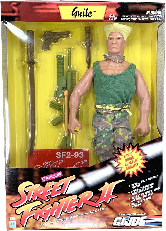 Amazon Com Gi Joe Street Fighter Ii 12 Inch Guile Action Figure