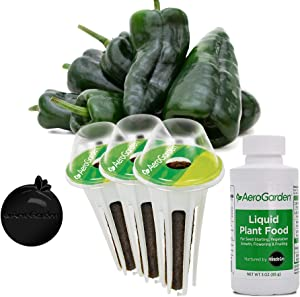 AeroGarden 809544-0208 Seed Pod Kit, Tall Gardens Only, Green