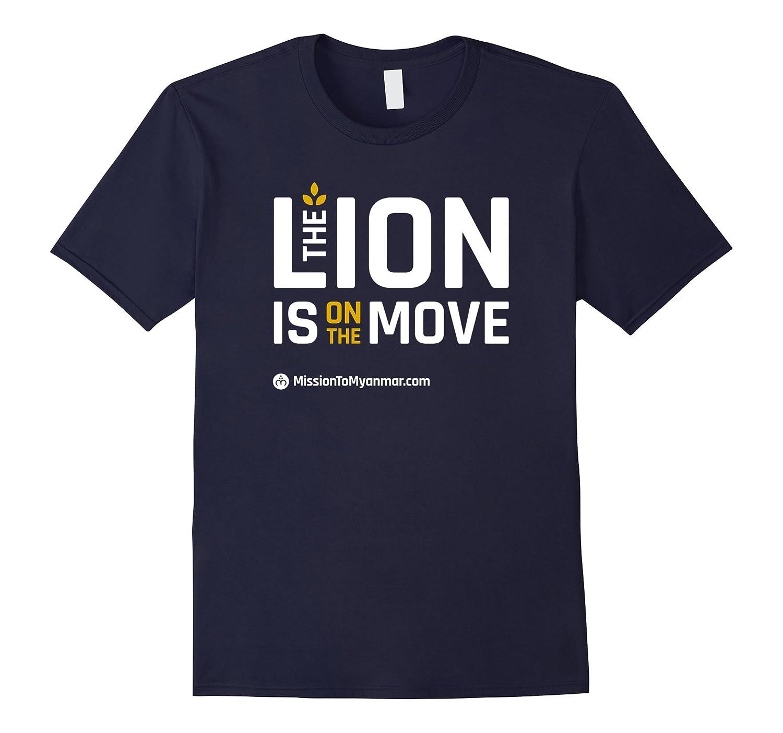 Lion T-shirt Asphalt-Vaci